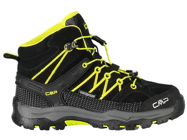 CMP Campagnolo Rigel Mid WP - Chaussures Enfant - jaune noir sur CAMPZ ! 9995316e9f0